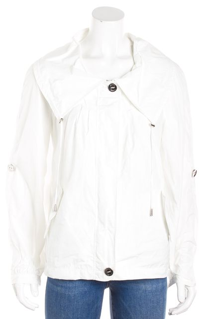 ARMANI COLLEZIONI White Raincoat