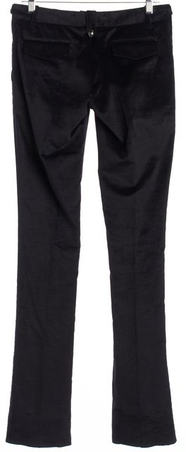 BARBARA BUI Black Creased Casual Pants