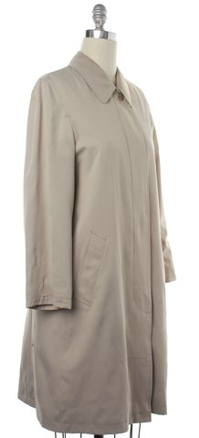BURBERRY Beige Button Down Collared Jacket