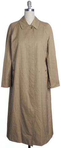 BURBERRY Beige Long Trench Coat
