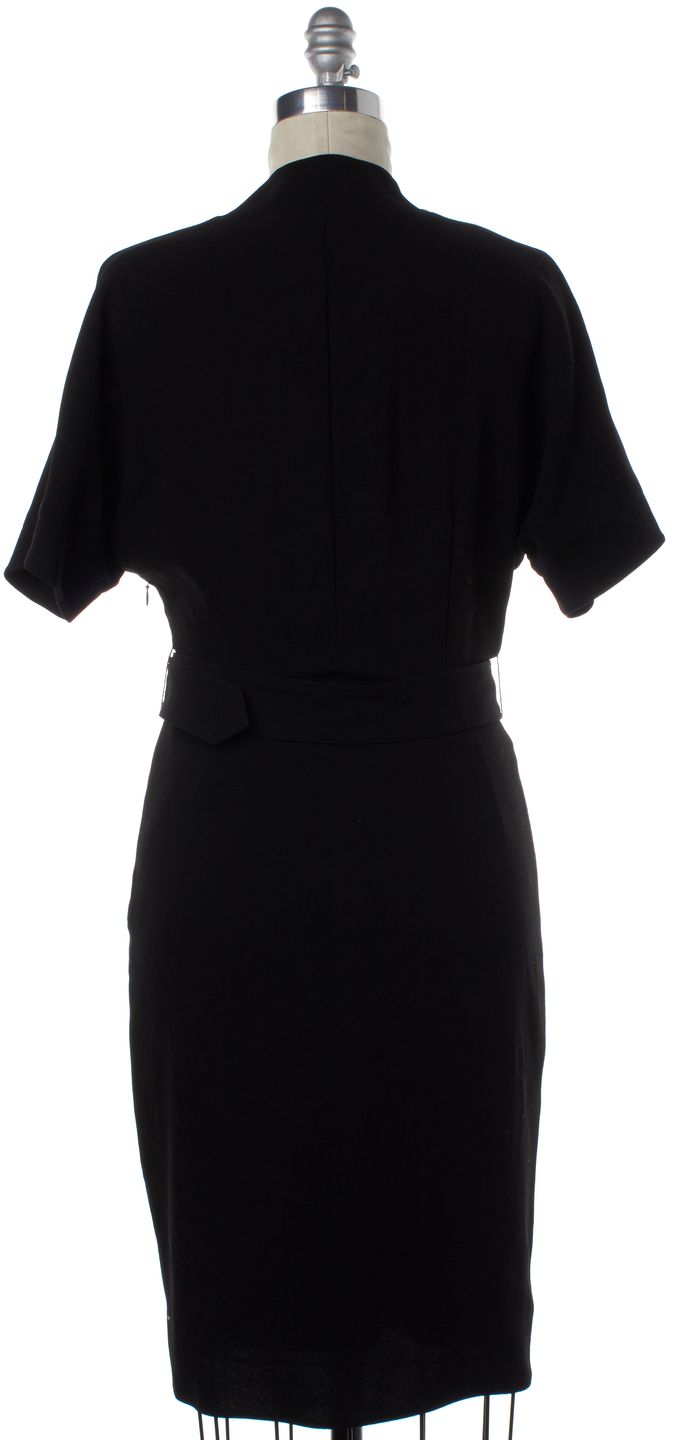 BURBERRY Black Sheath Dress