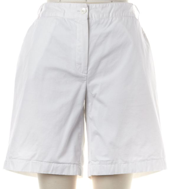 BURBERRY White Casual Shorts