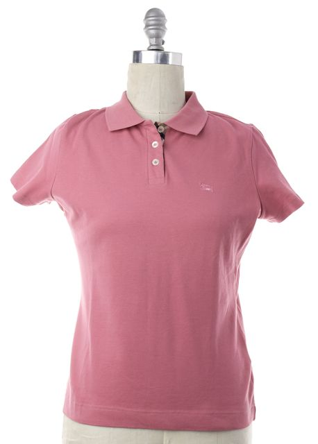 BURBERRY Pink Polo Shirt Top