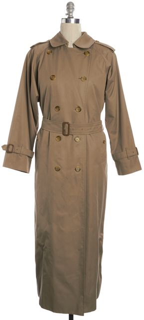 BURBERRY Vintage Beige Belted Trench Coat