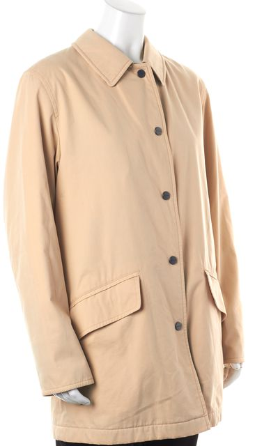 BURBERRY Casual Beige Basic Coat