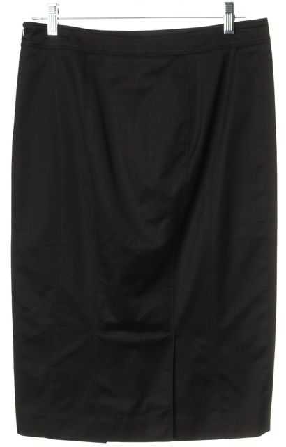 BURBERRY Black Pencil Skirt
