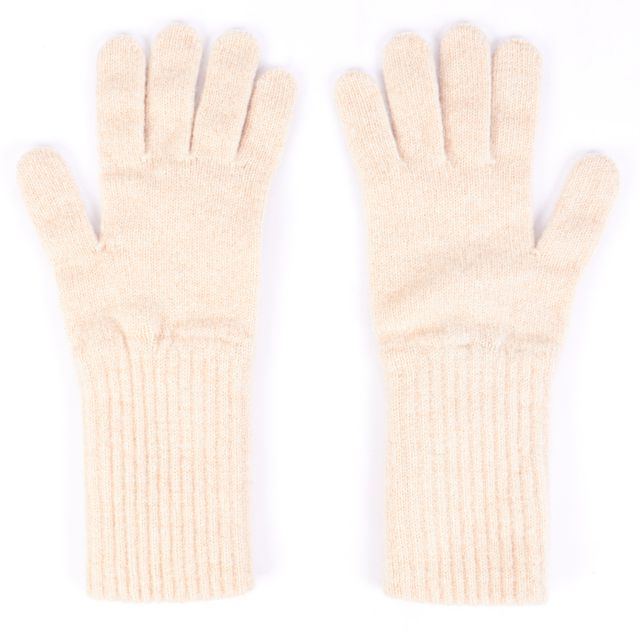 BURBERRY Beige Lambswool Everyday Gloves