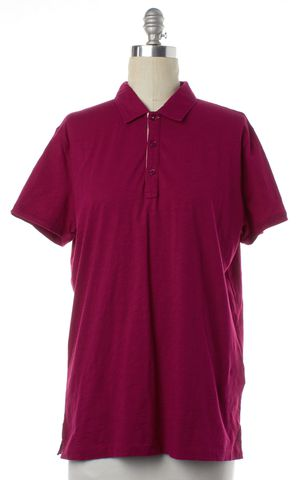 BURBERRY BRIT Pink Cotton Short Sleeve Polo Shirt