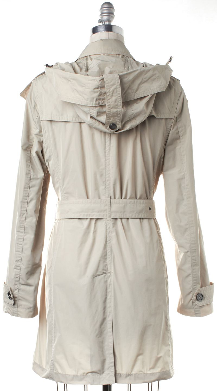 BURBERRY BRIT Beige Rain Trench Coat