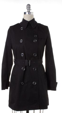 BURBERRY BRIT Black Trench Coat