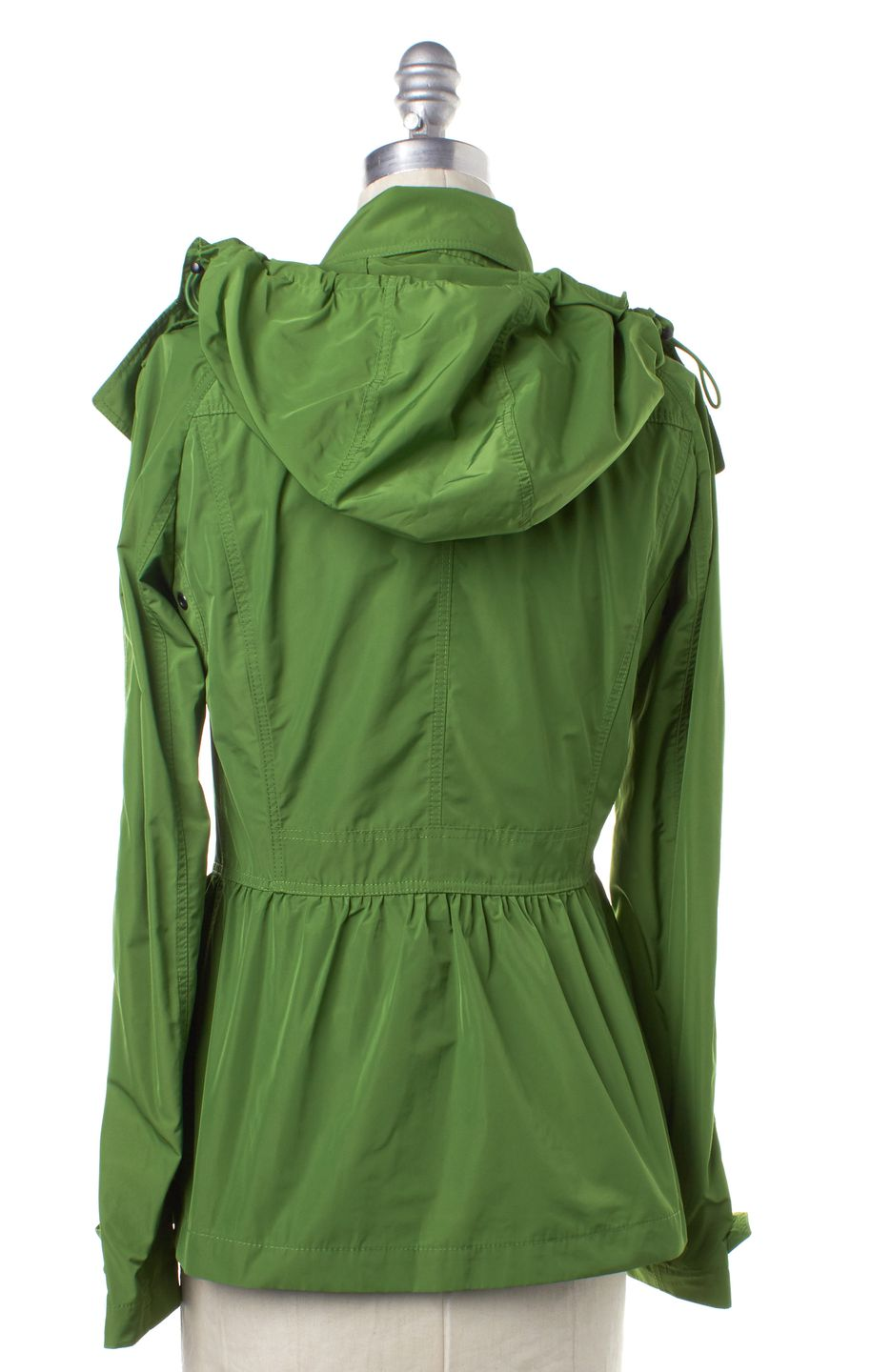 BURBERRY BRIT Glass Green Hooded Jacket
