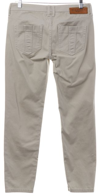 BURBERRY BRIT Beige Skinny Jeans