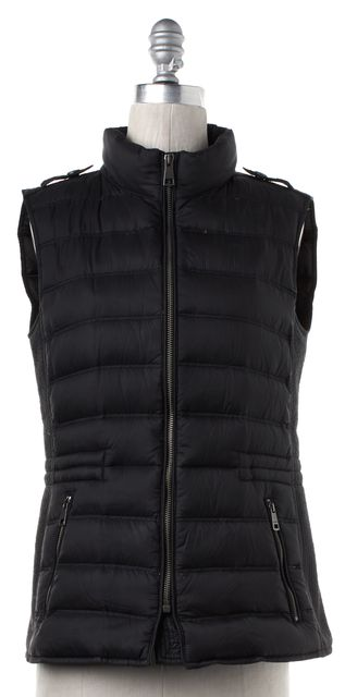 BURBERRY BRIT Black Down Vest