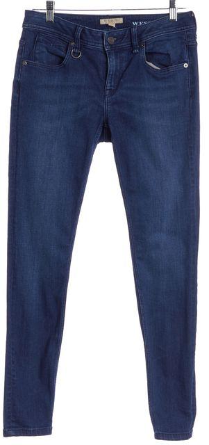 BURBERRY BRIT Blue Skinny Jeans