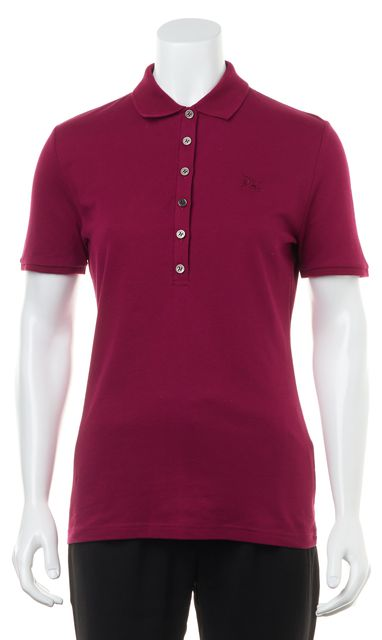 BURBERRY BRIT Fritillary Pink Polo Shirt