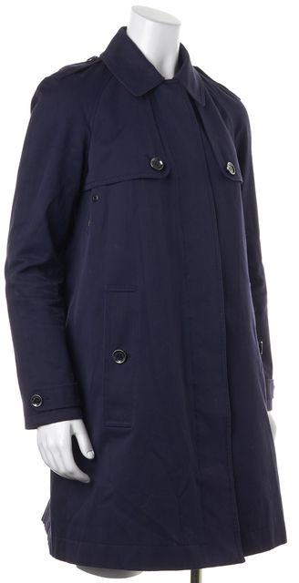 BURBERRY BRIT Navy Trench Jacket