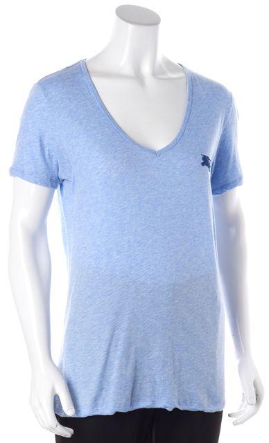 BURBERRY BRIT Blue Basic T-Shirt