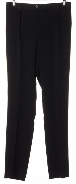 BURBERRY BRIT Black Elastic Waist Trouser Dress Pants