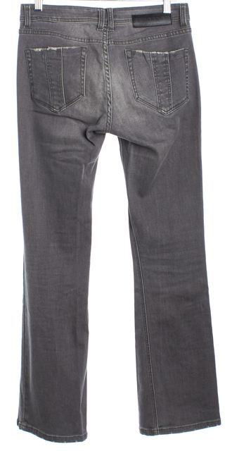 BURBERRY BRIT Gray Islington Boot Cut Jeans