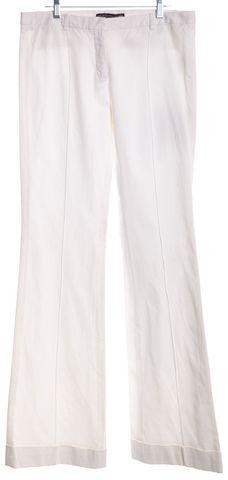 BALENCIAGA NWOT Ivory Wide Leg Casual Pants Size 6