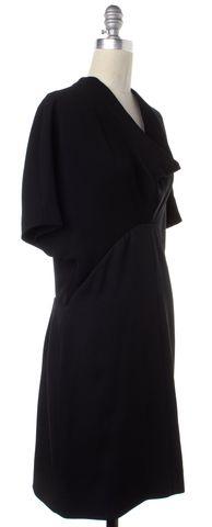 BALENCIAGA Black Shift Dress Size 8