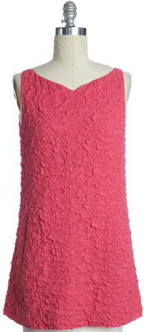 BALENCIAGA Pink Sleeveless Sheath Dress