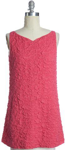 BALENCIAGA Pink Sleeveless Sheath Dress Size 4 IT 40