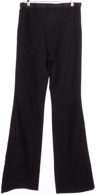BALENCIAGA Black Wide Leg Casual Pants
