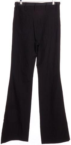 BALENCIAGA Black Wide Leg Casual Pants Size 8 FR 40