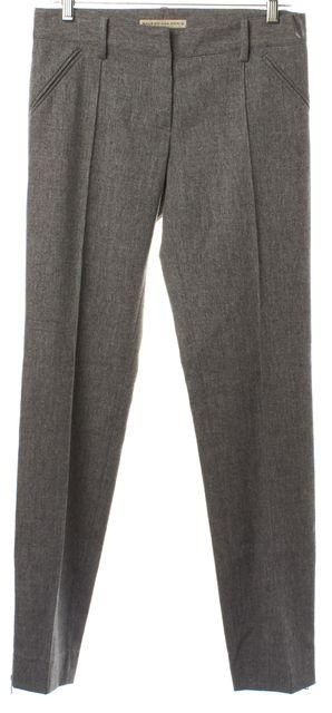 BALENCIAGA Light Gray Wool Trouser Pants