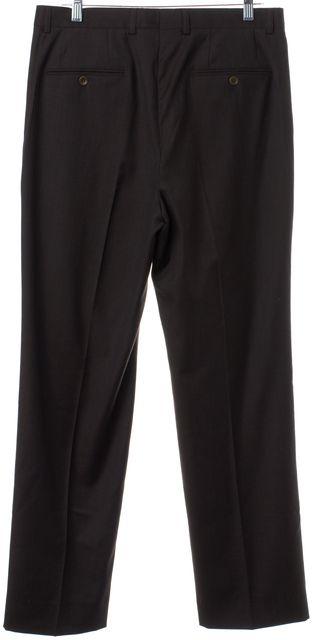 BALENCIAGA Gray Wool Men's Trouser Pants