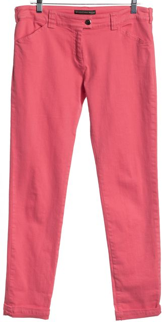BALENCIAGA Pink Slim Fit Jeans Size US 10 FR 42