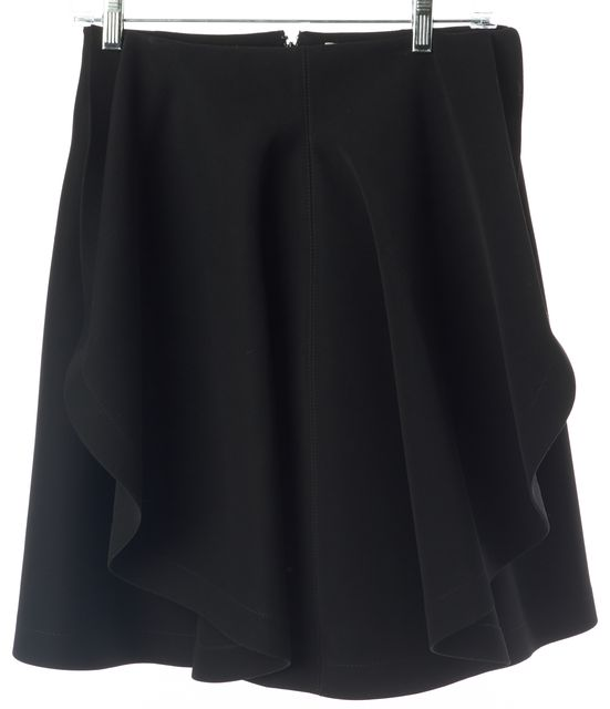 BALENCIAGA Black Ruffled Tulip Full Skirt