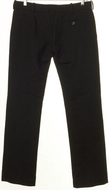 BALENCIAGA Black Cotton Trouser Dress Pants