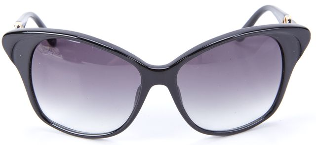 BALENCIAGA Black Round Sunglasses
