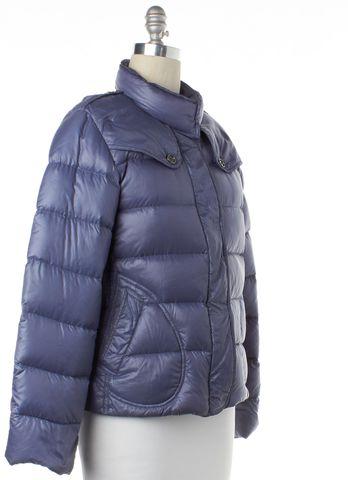 BURBERRY LONDON Blue Winter Light Weight Puffer Goose Down Jacket