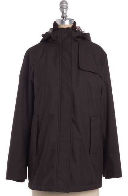 BURBERRY LONDON Brown Puffer Basic Coat