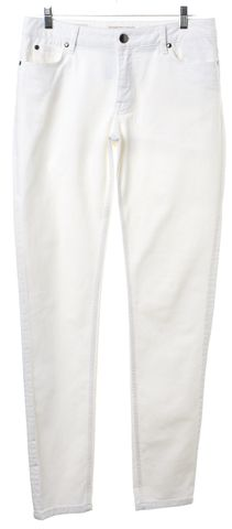 BURBERRY LONDON White Skinny Jeans