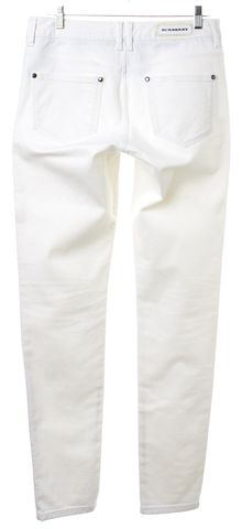 BURBERRY LONDON White Skinny Jeans