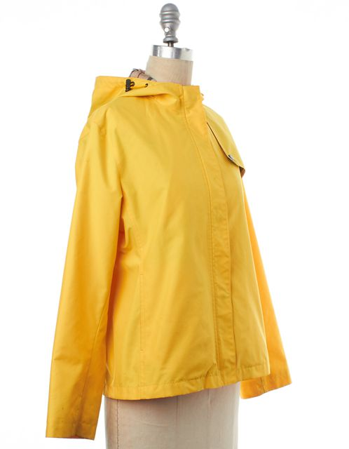 BURBERRY LONDON Yellow Raincoat Jacket