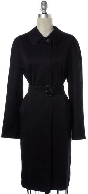 BURBERRY LONDON Black Belted Jacket