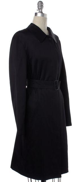 BURBERRY LONDON Black Belted Jacket