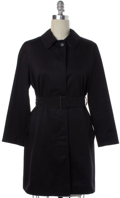 BURBERRY LONDON Black Natasha Trench Coat