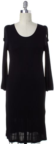 BURBERRY LONDON Black Sheath Dress