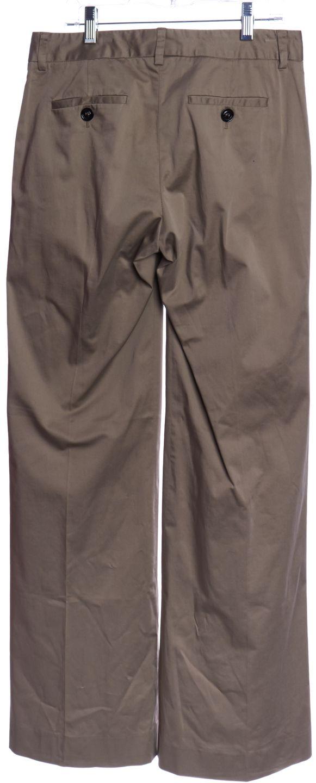 BURBERRY LONDON Beige Wide Leg Trousers Pants