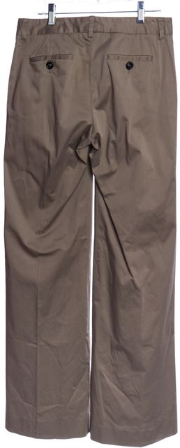 BURBERRY LONDON Beige Wide Leg Trousers Pants