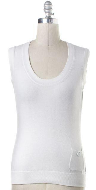 BURBERRY LONDON White Tank Top