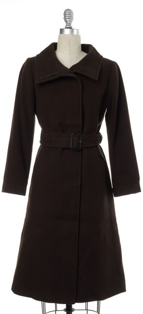 BURBERRY LONDON Brown Wool Coat
