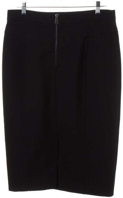 BURBERRY LONDON Black Pencil Skirt