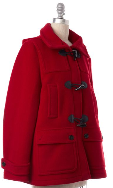 BURBERRY LONDON Red Jacket Coat